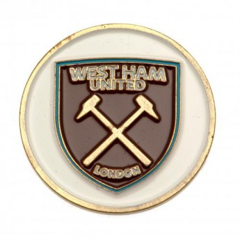 West Ham United marker míčku Ball Marker