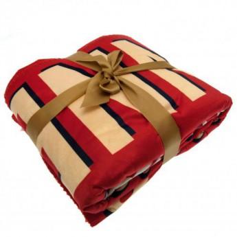 FC Arsenal deka Sherpa Fleece Blanket