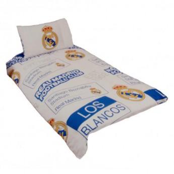 Real Madrid povlečení na jednu postel Single Duvet Set PT