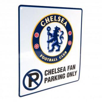 FC Chelsea kovová značka No Parking Sign