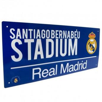 Real Madrid kovová značka Street Sign BL