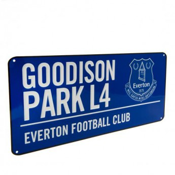 FC Everton kovová značka Street Sign BL