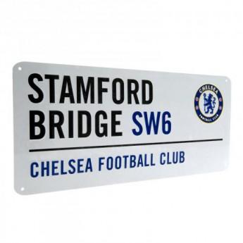 FC Chelsea kovová značka Street Sign