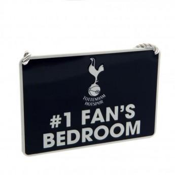Tottenham Hotspur značka do ložnice Bedroom Sign No1 Fan