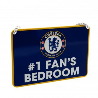 FC Chelsea značka do ložnice blue Bedroom Sign No1 Fan