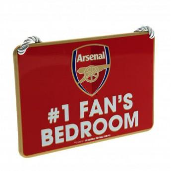 FC Arsenal značka do ložnice Bedroom Sign No1 Fan