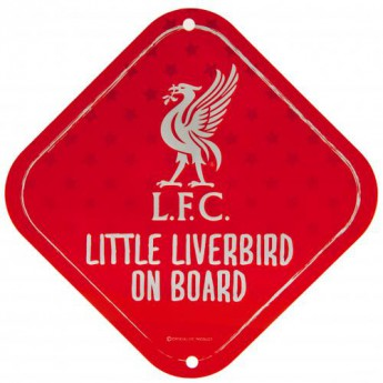 FC Liverpool cedule dítě v autě Little Dribbler