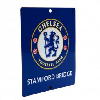 FC Chelsea cedule na okno Window Sign SQ