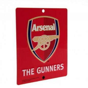 FC Arsenal cedule na okno Window Sign SQ