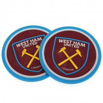 West Ham United set podtácků 2pk Coaster Set