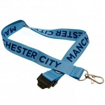 Manchester City klíčenka Lanyard
