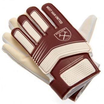 West Ham United dětské brankářské rukavice Goalkeeper Gloves Yths