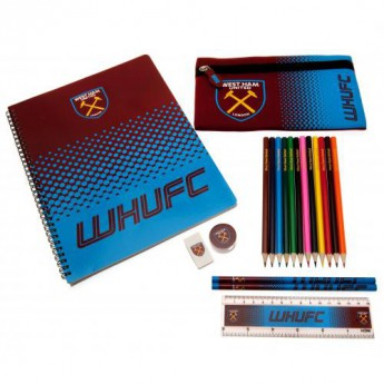 West Ham United školní set Ultimate Stationery Set