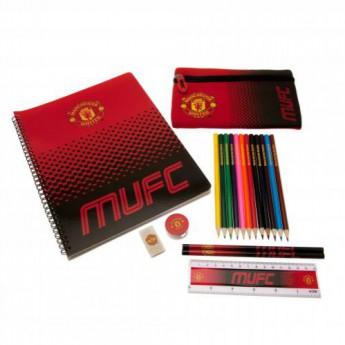 Manchester United školní set Ultimate Stationery Set