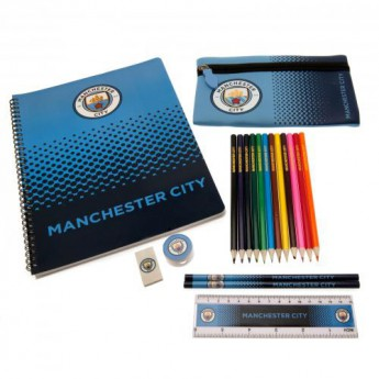 Manchester City školní set Ultimate Stationery Set