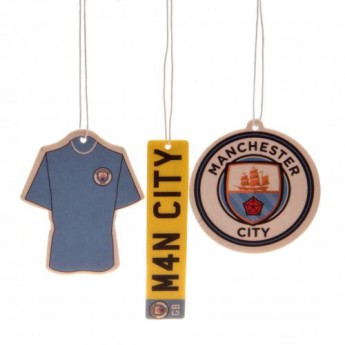 Manchester City osvěžovač vzduchu 3pk