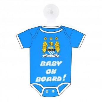Manchester City cedule dítě v autě Baby On Board