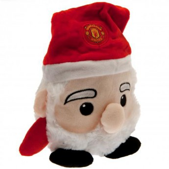 Manchester United plyšový santa Santa