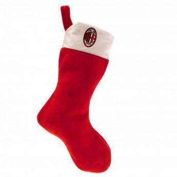 AC Milan vánoční punčocha Supersoft Christmas Stocking
