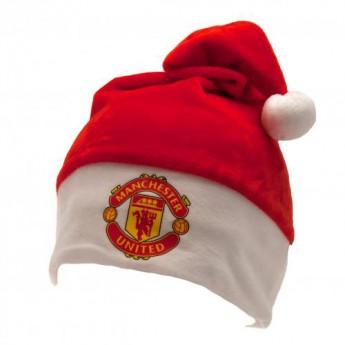 Manchester United zimní čepice Supersoft Santa Hat