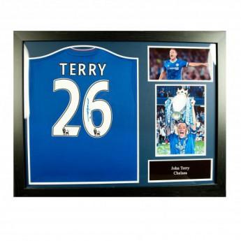 Legendy zarámovaný dres FC Chelsea Terry Signed Shirt (Framed)