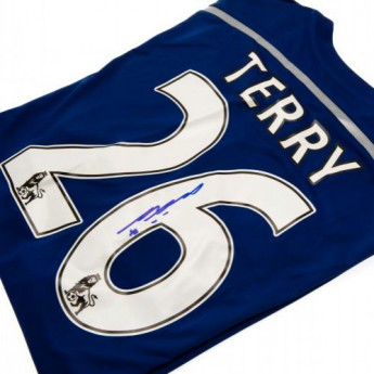 Legendy fotbalový dres FC Chelsea Terry Signed Shirt