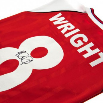 Legendy fotbalový dres FC Arsenal Wright Signed Shirt