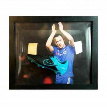 Legendy zarámované kopačky FC Chelsea Terry Signed Boot (Framed)