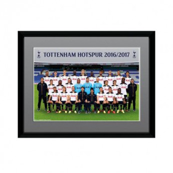 Tottenham Hotspur obrázek v rámečku Squad 8 x 6 16/17