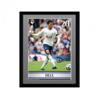 Tottenham Hotspur obrázek v rámečku Dele Alli 8 x 6