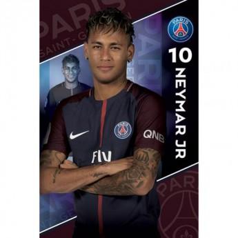 Paris Saint German plakát Neymar 10