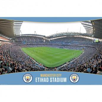 Manchester City plakát Poster Stadium 7