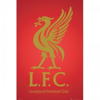 FC Liverpool plakát Crest 43