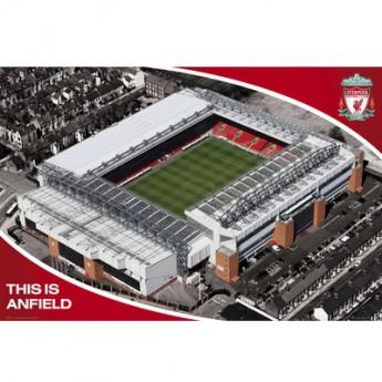 FC Liverpool plakát Stadium 13
