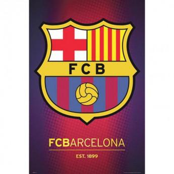 FC Barcelona plakát Crest 54