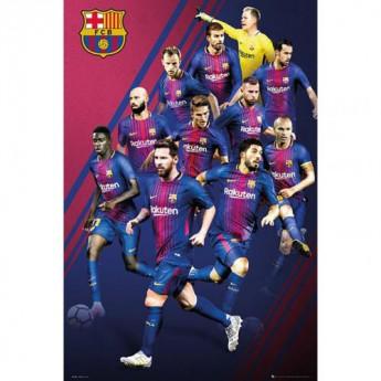 FC Barcelona plakát Players 50