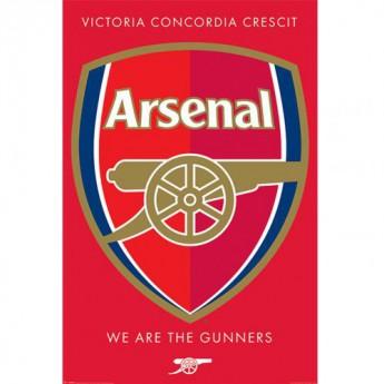 FC Arsenal plakát Crest 36