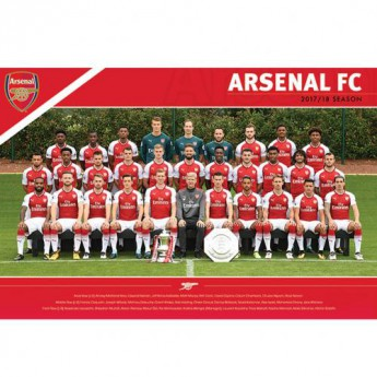 FC Arsenal plakát Squad 35
