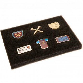 West Ham United set odznáčků 6 Piece Badge Set