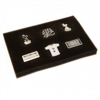 Tottenham Hotspur set odznáčků 6 Piece Badge Set