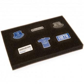 FC Everton set odznáčků 6 Piece Badge Set
