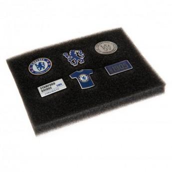 FC Chelsea set odznáčků 6 Piece Badge Set