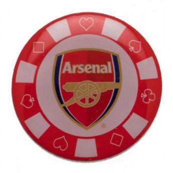 FC Arsenal odznak Poker Chip Badge