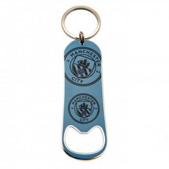 Manchester City otvírák Bottle Opener Keychain