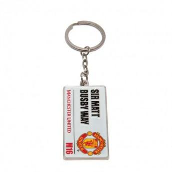 Manchester United přívěšek na krk Keyring SS