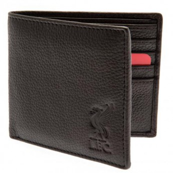 FC Liverpool kožená peněženka Brown Leather Wallet