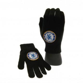 FC Chelsea dětské rukavice Knitted Gloves Junior