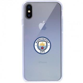 Manchester City Pouzdro na mobil iPhone X TPU Case