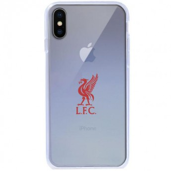 FC Liverpool Pouzdro na mobil iPhone X TPU Case