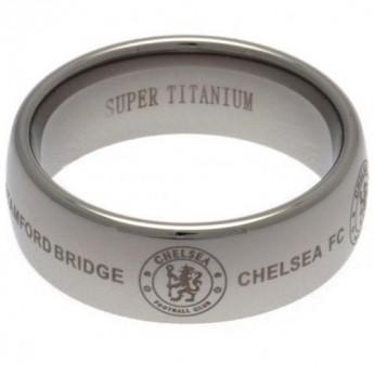 FC Chelsea prsten Super Titanium Large